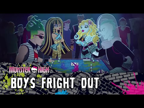 Boys Fright Out | Monster High