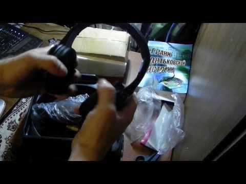 посылка из Китая 2014 распаковка unboxing  беспроводные мониторные  наушники 5в1 с сайта aliexpress