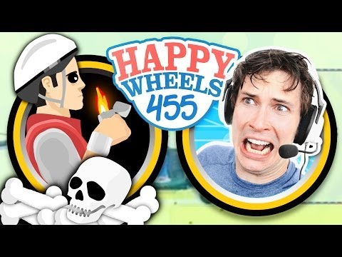 DEADLY DARKNESS - Happy Wheels