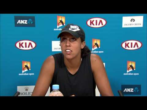 Madison Keys press conference (QF) - Australian Open 2015