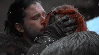 Sansa & Jon - Forehead Kiss | Game of Thrones: 6x10 | HD 1080p