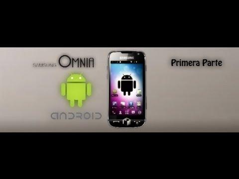 Cómo instalar Android en el Omnia 2 | Cyanogen 1/2 ✔