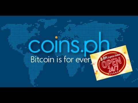 How To Buy Bitcoin In Coins.ph Using BPI Express Online