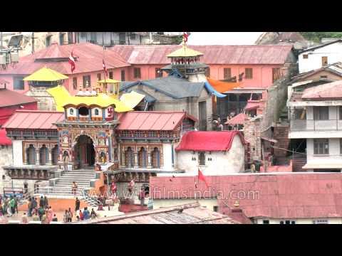 Badrinath Dham before disaster