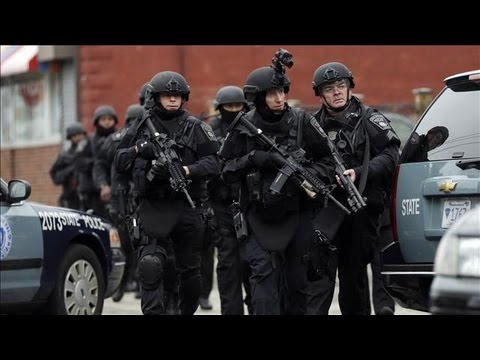 Boston Suspect Is Killed in Shootout