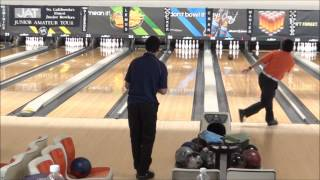 Josh Tajiri Going For A 300 Game JAT AMF Carter Lanes March 10, 2013 Qualifying Round Baker Doubles
