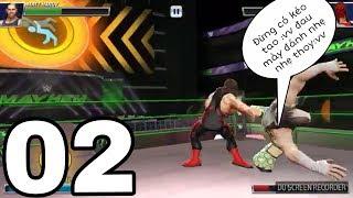 LIVE GAME SHOW WWE 2018|| PHẦN 2 TẬP 2 ||ĐẲNG CẤP LÀ MÃI MÃI-SỐ ĐÔNG K XÁ DÌ CẢ :vv