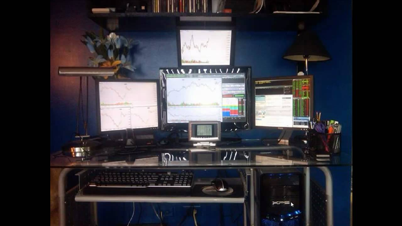 My Trading Desk Computer Setup And Direct Access Vs