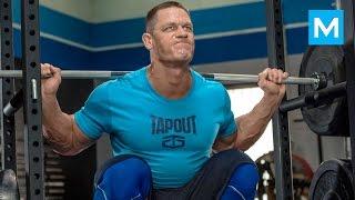John Cena Training for WWE Muscle Madness