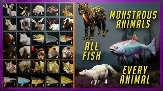 Far Cry New Dawn - Animals, Monstrous Animals & Fishing Locations (Master Skinner & You're a Catch)