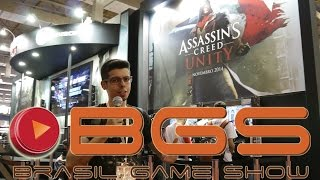 BGS 2014 - Estande Ubisoft #1 - Assassin