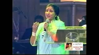 Aaiye Meherbaan Live in  Concert Asha Bhosle