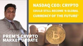 CEO Nasdaq positief over de toekomst van Crypto's