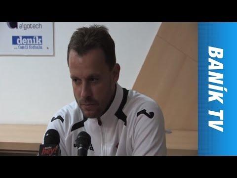 Tisková konference: FC Baník Ostrava - FC Zbrojovka Brno