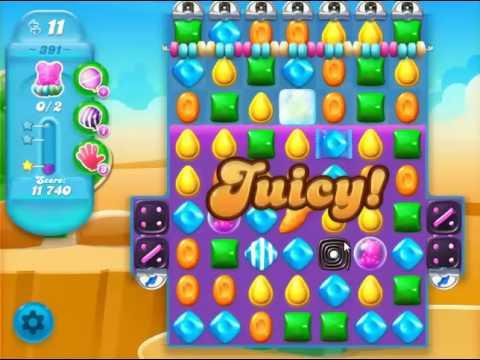 candy crush soda saga level 391 (NO BOOSTER)