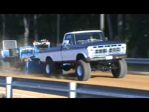 1976 Ford BIG BAD 460 4 speed truck pulling
