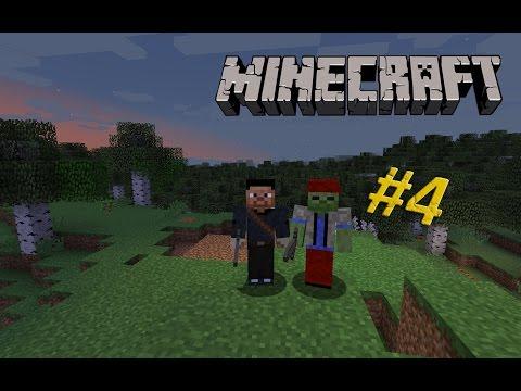 Minecraft Хардкор #4 Строительство дома