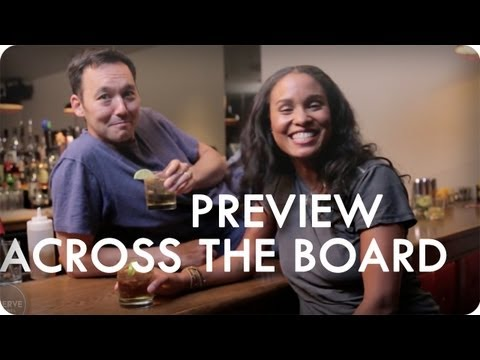 Steve Byrne and Joy Bryant Play Ping Pong | Across The Board™ Ep. 5 Preview | Reserve Channel