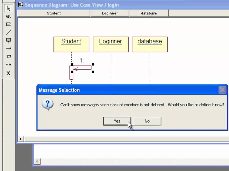How To Create Sequence Diagram In Rational Rose