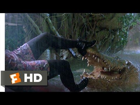 Jumanji (5/8) Movie CLIP - Crocodile Attack (1995) HD