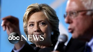 Hillary Clinton has harsh words for Bernie Sanders