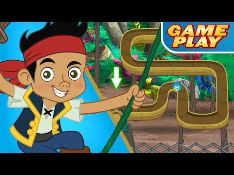 JAKE and The Neverland Pirates: Pirate Marble Raceway - for KIDS