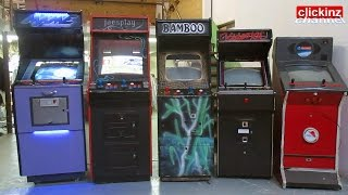My collection of arcade arcade machines. I show you inside and outside
