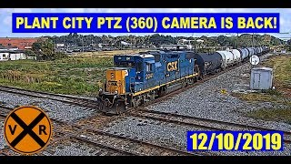 THE 360 PTZ  *PAN, TILT, ZOOM*  CAMERA IS BACK AT PLANT CITY, FL!