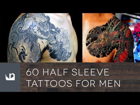 60 Half Sleeve Tattoos for Men