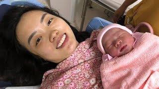 Kí sự đi sinh em bé P1 | Ngày Ori ra đời !!! | OriFamily VLOG 1