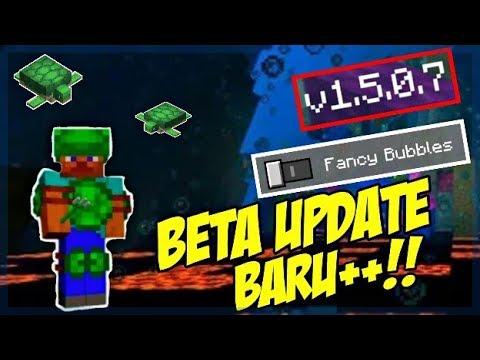 UPDATE MCPE 1.5.0.7 ! SETTINGAN BARU, BUBBLE BARU, DAN BANYAK LAGI !