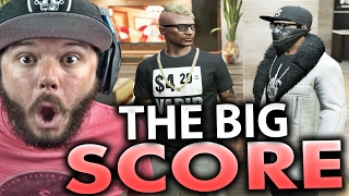 GTA 5 Online - THE BIG SCORE HEIST - FUNNY MOMENTS | Part 41 (GTA 5 ONLINE)
