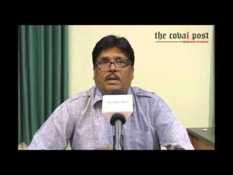 Dr Rajiv K Srivastava, Director, Tamil Nadu Forest Academy