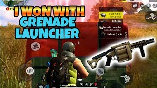 Winning With Grenade Launcher! Rules of Survival