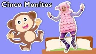 Cinco Monitos + Más | Mother Goose Club en Español