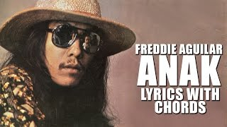 Freddie Aguilar - Anak [Official Lyric Video with Chords] Gangnam Blues OST