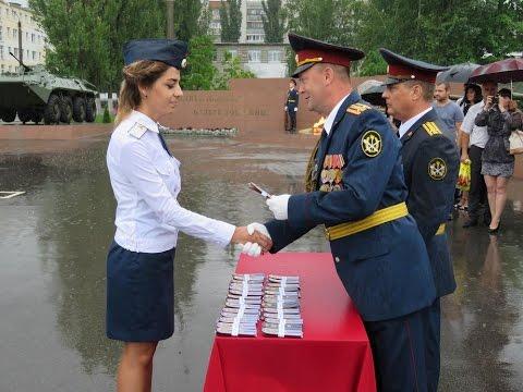 Вручение погон младших лейтенантов Воронежский институт ФСИН России
