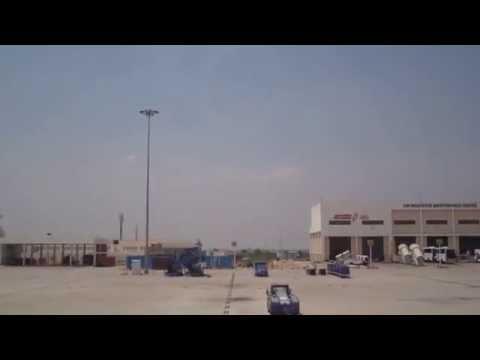 Indigo airways pushback from Banglore International Airport