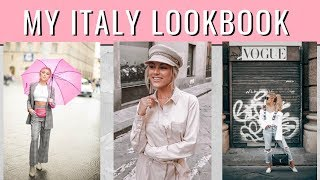 What I Wore in Italy | Fashion LookBook 2018