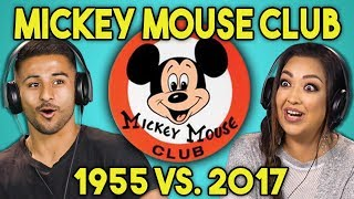 ADULTS REACT TO NEW MICKEY MOUSE CLUB (1955 vs. 2017)