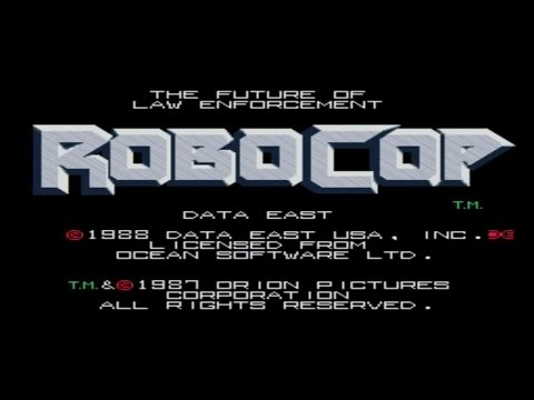 Movies to Video Games Review - Robocop (Arcade)