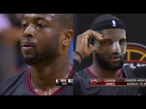 2014.03.06 - LeBron James & Dwyane Wade Full Combined Highlights at Spurs