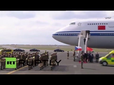 Czech Republic: China's Xi Jinping touches down in Prague for state visit