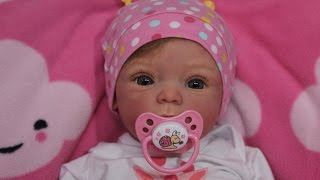 Распаковка куклы реборн Livia Beautiful Reborn Baby Doll Box Opening!!