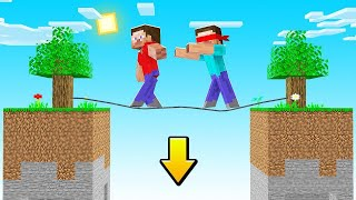 Minecraft But IF THE BLIND STEVE DIES The VIDEO ENDS! (impossible)