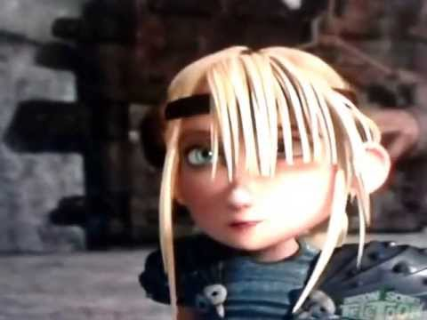 Hiccup and Astrid's 3rd Kiss