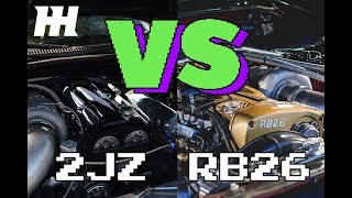 RB26 vs 2JZ