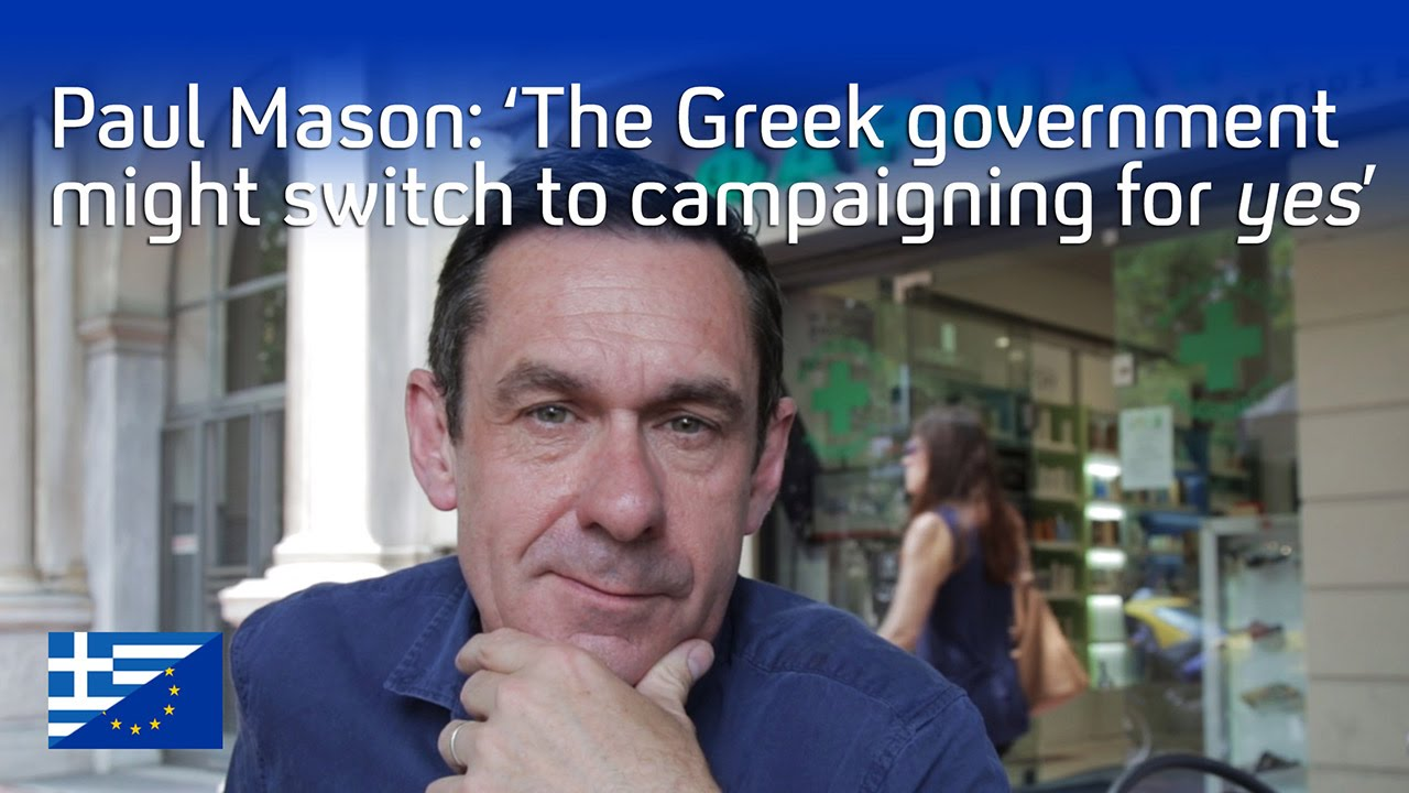Will Greece ask its people to back Europe? Paul Mason (Episode 2)