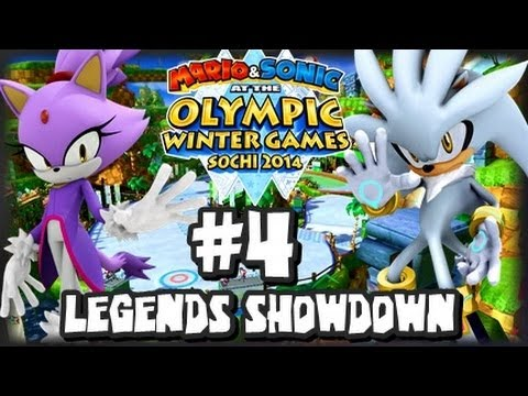 Mario & Sonic At the 2014 Sochi Winter Olympic Games - (1080p) Legends Showdown Part 4