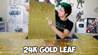 I Made Giant Art Using ONLY Gold | ZHC